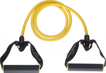 Extensor cu coarda elastica si manere Pentru recuperare 1.3 m Accesorii fitness
