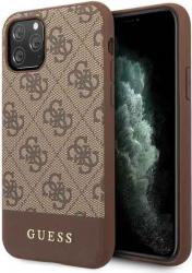 Husa Premium Originala Guess Stripe Collection iPhone 11 Pro Brown-guhcn58g4glbr Huse Telefoane