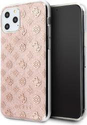 Husa Spate Originala Guess iPhone 11 Pro Peony Glitter Roz -guhcn58tperg Huse Telefoane