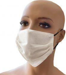 Masca de protectie fata uz general unica folosinta alb Masti chirurgicale si reutilizabile