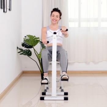 Bicicleta fitness pentru seniori Alb 41 x 50 x 96 cm Accesorii fitness