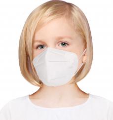 Masca respiratoare PENTRU COPII antivirus KN95 FFP2 4 straturi FFP2 set 2 Bucati Masti chirurgicale si reutilizabile