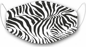 Masca reutilizabila personalizata zebra