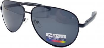Ochelari de soare Polarizati barbati brat aluminiu XP1016C1 negru Ochelari de soare