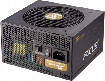 Sursa Seasonic FOCUS Plus 1000W SSR-1000FX 80PLUS Gold Full Modulara Ventilator 120mm Premium Hybrid Fan Control Surse