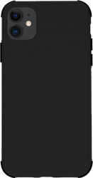 Husa Antishock Defender Rubber pentru Apple iPhone 11 Pro Max TPU + PC Negru Huse Telefoane