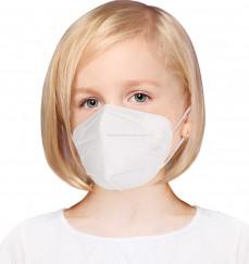 Masca respiratoare PENTRU COPII antivirus KN95 FFP2 4 straturi FFP2 set 5 Bucati Masti chirurgicale si reutilizabile