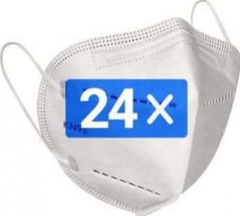 24 Masti de protectie respiratorie KN95 FFP2 Masti chirurgicale si reutilizabile