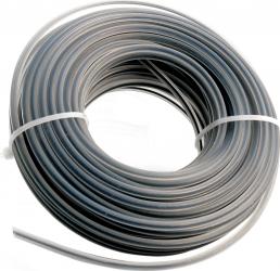 Fir Trimmer Rotund Insertie Metal 2.7mm x 15m Argintiu Accesorii motocoase