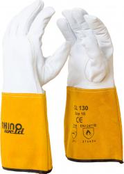 Manusi sudor TIG Exclusive piele oaie 1 1mm cusute cu Kevlar marimea XL Accesorii Sudura