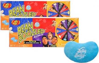 Pachet Dublu 2 Cutii Bomboane Jeleuri Jelly Belly Bean Boozled Joc Ruleta Editia 5 Jocuri de Societate