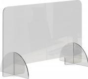 Panou protectie din plexiglas transparent grosime 3mm L120 cm H80 cm Articole protectia muncii