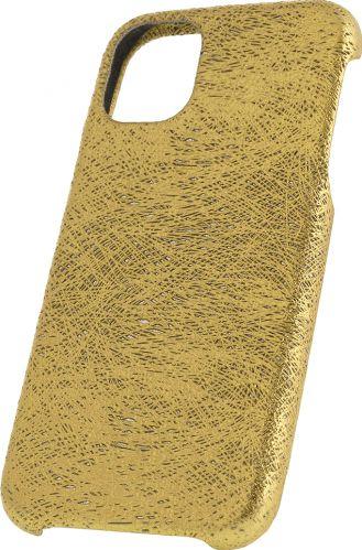 Husa de piele naturala Woop Iphone 11 Pro Max Christmas Magic auriu Huse Telefoane