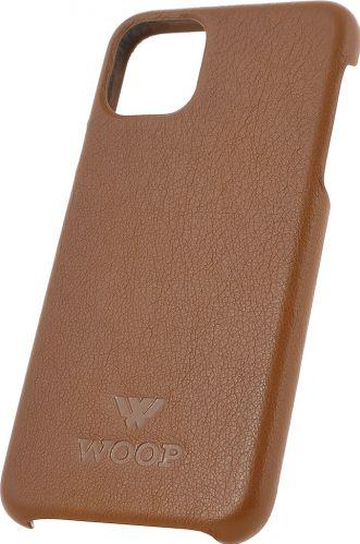 Husa de piele naturala Woop Iphone 11 Pro Max Classics maro cognac Huse Telefoane