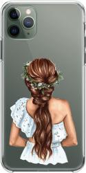 Husa telefon Iphone 11 Pro Max Nature girl Huse Telefoane