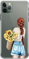Husa telefon Iphone 11 Pro Sunflowers Huse Telefoane