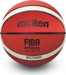 Minge baschet Molten B6G2000 aprobata FIBA cauciuc marime 6