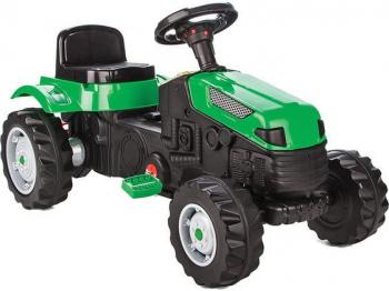 Tractor cu pedale pentru copii Pilsan Verde