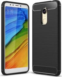 pret preturi Husa de telefon Carbon Premium Protect Xiaomi Redmi 5 6 nivele de protectie Finisaj metalic Slim Black