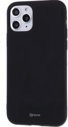Husa Roar Colorful Jelly silicon mat Iphone 11 Pro Max negru Huse Telefoane