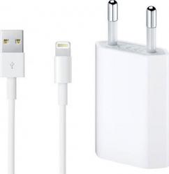 Set Incarcator Apple Original pentru iPhone 55s66s6+6s+77+88+XXsXs MaxXR cu cablu Apple lightning Incarcatoare Telefoane