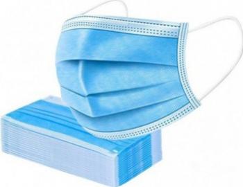 Set 50 buc masca protectie 3 straturi 3 pliuri Masti chirurgicale si reutilizabile