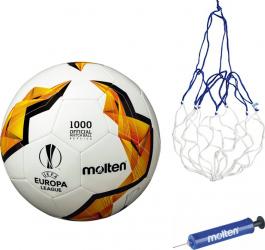 Minge fotbal Molten F5U1000 replica UEFA Europa LEAGUE pompa si plasa
