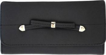 Portofel elegant dama cu fundita negru Portofele
