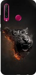 Husa Silicon Soft Upzz Print Huawei P40 Lite E Model Tiger