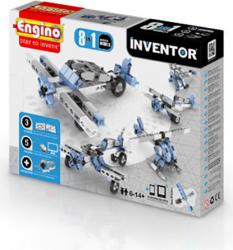 Joc constructie tip lego 8 modele aparate zbor copii 6-14 ani Inventor Jocuri de Societate
