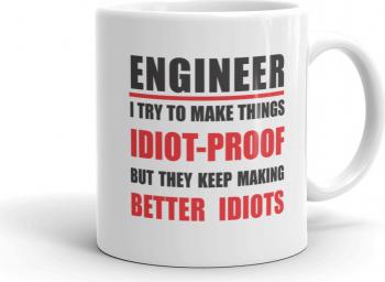 Cana personalizata Engineer