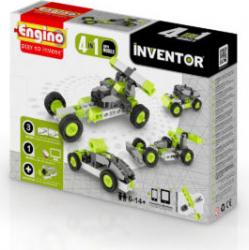 Joc piese lego 4 modele masini copii 6-14 ani Inventor