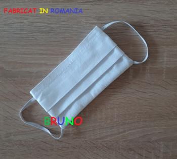 Masca de protectie reutilizabila alba pentru copii Masti chirurgicale si reutilizabile