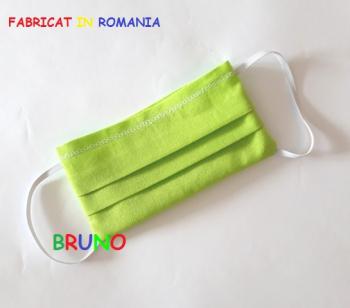 Masca de protectie reutilizabila verde pentru copii Masti chirurgicale si reutilizabile