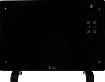 Panou incalzire Sticla ZLN1419 1500 W Touch screen Afisaj LED Montare pe perete sau podea Negru