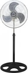 Ventilator cu picior ZILAN 3840 3 in 1 Putere 55 W 3 viteze diametru 45 cm negru cu gri