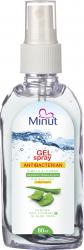 Gel spray antibacterian biocid Minut 80 ml Gel antibacterian