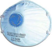 Masca de Protectie FFP2 SHELTECH cu Valva Aparate medicale