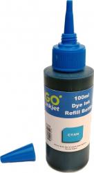Cerneala universala refill DYE 100 ml cyan