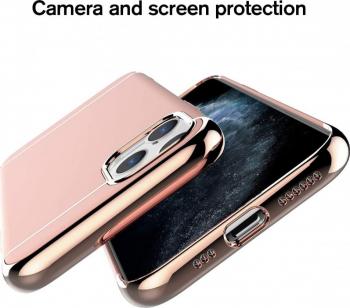 Husa Apple iPhone 11 PRO Elegance Luxury 3in1 Rose-Gold Huse Telefoane