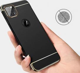 Husa Apple iPhone 11 PRO MAX Elegance Luxury 3in1 Black Huse Telefoane
