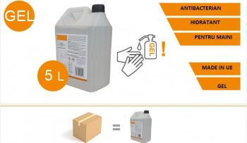 GEL DEZINFECTANT ANTIBACTERIAN HIDRATANT 5L Gel antibacterian