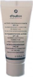 Plic Crema Corectoare Ten Pigmentat SPF 20 4 ml D Bullon