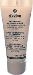 Plic crema hidratanta ten uscat cu protectie solara DBullon 4 ml