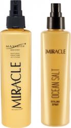 Set Miracle Spray Hidratare Par si Corp si Spray Styling 200ml cu Sare Organica Maxxelle Masti, exfoliant, tonice