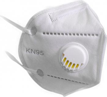 Masca de protectie KN95 FFP2 - 5 Straturi + Valva Articole protectia muncii