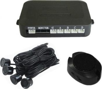 Set 4 senzori parcare cu afisaj si sunet BEEP - BEEP Alarme auto si Senzori de parcare