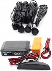 Set de sensori de parcare cu afisaj LED cu wireless si semnal acustic 21.5 mm raza de actiune 0-2m Alarme auto si Senzori de parcare