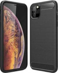 Husa de protectie cu insertii carbon pentru iPhone 11 Pro Max protectie spate bumper capac de protectie Negru SHO1110 Huse Telefoane