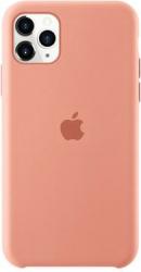 Husa protectie spate cu logo Apple pentru iPhone 11 Pro Max silicon Corai SHO1156 Huse Telefoane